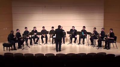"""Serenade"", Op. 44 III. Andante con moto Antonin Dvorak arr. Clifford Leaman  USC Saxophone Ensemble"