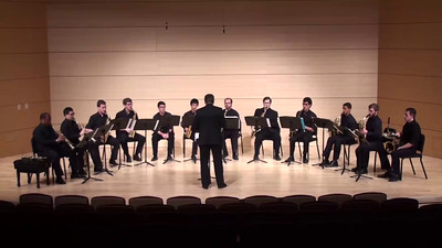 """Yes, with a BANG!"" Gregory Wannamaker  USC Saxophone Ensemble"