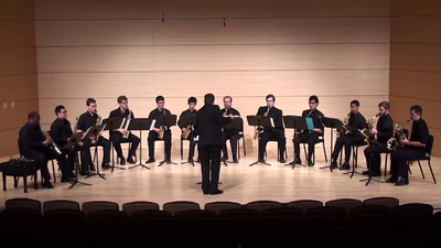 """Overture"" to ""The Marriage of Figaro"" Wolfgang Amadeus Mozart arr. José Oliver Riojas  USC Saxophone Ensemble"