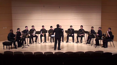 """Molly on the Shore"" Percy Aldridge Grainger arr. José Oliver Riojas  USC Saxophone Ensemble"