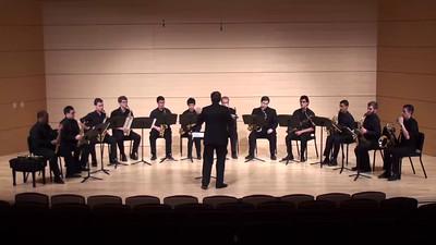 """""""Molly on the Shore"""" Percy Aldridge Grainger arr. José Oliver Riojas  USC Saxophone Ensemble"""