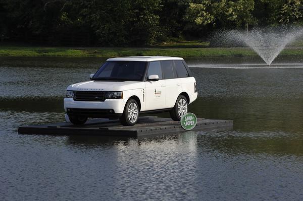 Car on Lake