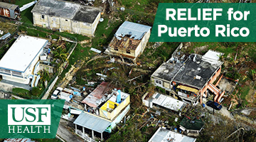 USF Health Relief for Puerto Rico