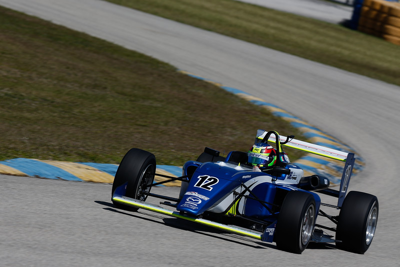Sierra fue el mexicano más constante en los tests (FOTO: Joe Skibinski/IMS Photo/Road to Indy)