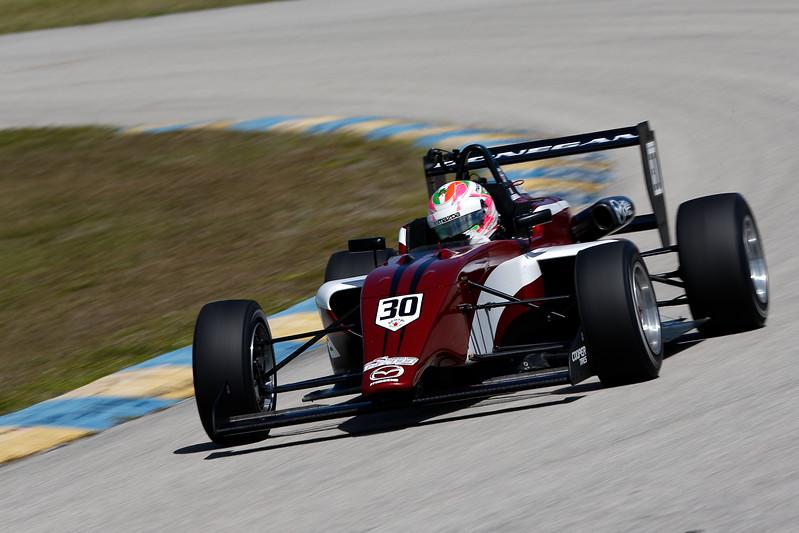 Keith Donegan, ganador de una beca de 200 mil dólares, debuta en la USF2000 con ArmsUP Motorsports (FOTO: Joe Skibinski/IMS, LLC Photography)