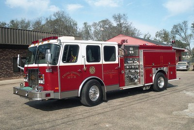 Montgomery AL - Engine 8 - 1998 E One Hurricane 1500-500-20F #18931
