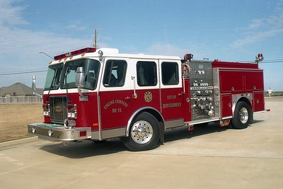 Montgomery AL - Engine 16 - 1999 E One Cyclone II - 1500-500-20F #20335