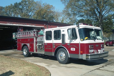 Montgomery AL - Engine 12 - 1990 E One Hurricane 1500-500-20F #3495