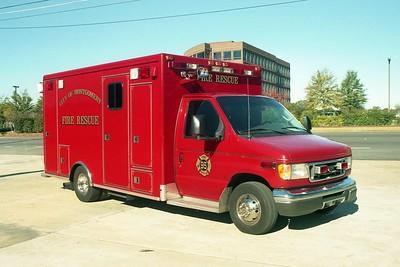 Montgomery AL - Rescue 95 - 2002 Ford E 450-McCoy Miller