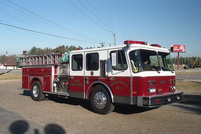 Montgomery AL - Engine 4 - 1988 E One Hurricane 1500-500-20F #7212