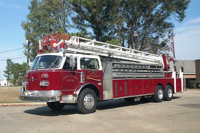 Montgomery AL - Ladder 46 - 1978 ALF Century 102' Rmt CE-34-5651