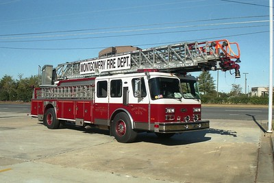 Montgomery AL - Ladder 45 - 1997 E One Hurricane 110' Rmt #17245