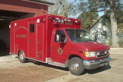 Montgomery AL - Rescue 94 - 2002 Ford E 450-McCoy Miller