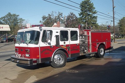 Montgomery AL - Engine 10 - 1991 E One Hurricane 1500-500-20F #8932