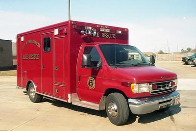 Montgomery AL - Rescue 92 - 2002 Ford E450-McCoy Miller #7950