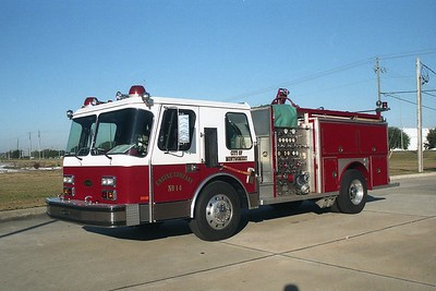 Montgomery AL - Engine 14 - 1986 E One Hurricane 1500-500-20F #4820