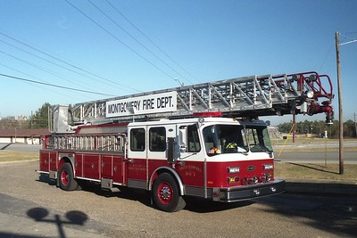 Montgomery AL - Ladder 41 - 1995 E One Hurricane 110' Rmt #14583