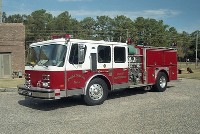 Montgomery AL - Engine 5 - 1992 E One Hurricane 1500-500-20F #12110