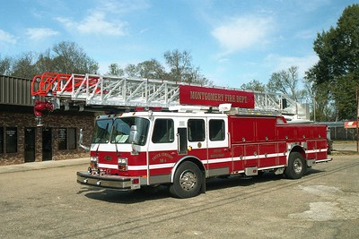 Montgomery AL - Ladder 44 - 2001 E  One Cyclone II 110' Rmt #21710