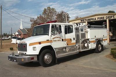 Wetumpka AL - Engine 3 - 1997 FL 80-E One 1250-1000 #18048