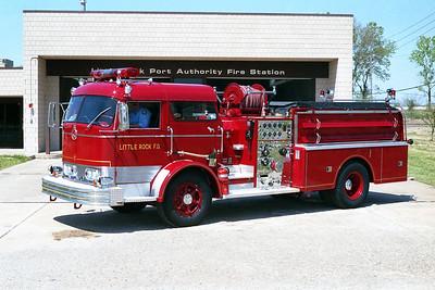 LITTLE ROCK FD  ENGINE 4  1966  MACK C85   1250-500