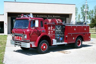LITTLE ROCK FD  ENGINE 27R  1973  IHC CARGOSTAR - BOARDMAN   1000-500