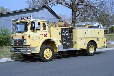 LITTLE ROCK FD  ENGINE 3  1978  IHC CARGOSTAR - BOARDMAN   1000-500