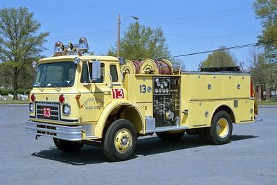 LITTLE ROCK FD  ENGINE 13  1979  IHC CARGOSTAR - BOARDMAN   1000-600