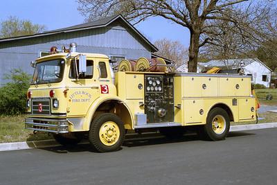 LITTLE ROCK FD  ENGINE 3  1978  IHC CARGOSTAR - BOARDMAN   1000-500    SIDE VIEW