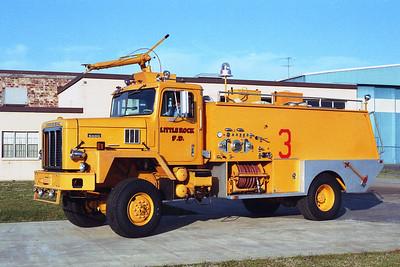 LITTLE ROCK FD  CRASH 3  1974  IHC PAYSTAR 5000 -  FIRE BOSS    750-1000 DRY CHEM