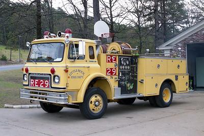 LITTLE ROCK FD  ENGINE 29R   1974  IHC CARGOSTAR - BOARDMAN   1000-500