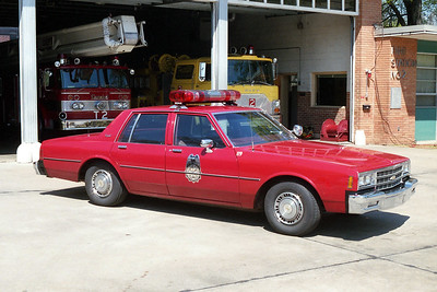 LITTLE ROCK FD  DISTRICT CHIEF 4   1986  CHEVY CAPRICE
