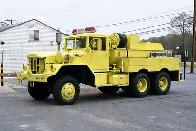 PINE BLUFF ARSENAL FD AR  ENGINE 3  1972  AMC 6X6   750-500