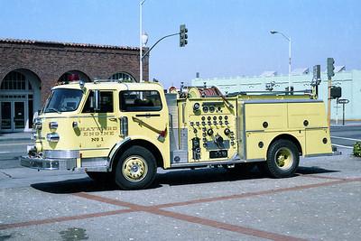 HAYWARD FD  ENGINE 1  ALF CENTURY