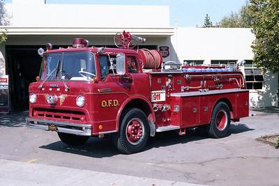 OAKLAND FD  ENGINE 20  FORD C - HOWE