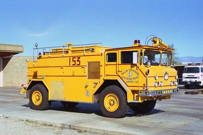 PALM SPRINGS FD  CFR 153 1974  WALTERS   1500-1500-300F