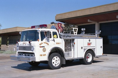 PALM SPRINGS FD SQUAD 2  1978  FORD C - E-ONE   250-500