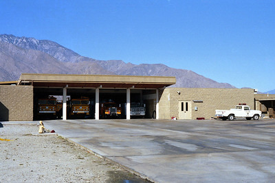 PALM SPRINGS FD  STATION 2  AIRPORT SIDE