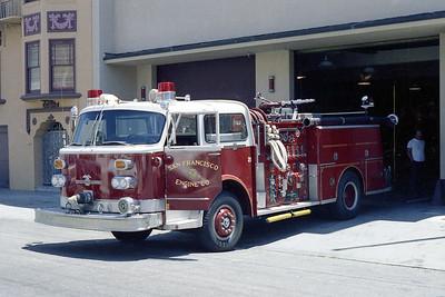 SAN FRANCISCO FD  ENGINE  21  1977  ALF CENTURY   1250-500