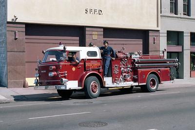 SAN FRANCISCO FD  ENGINE 35  1965  ALF 900   1250-500