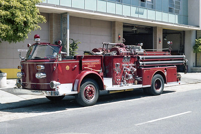 SAN FRANCISCO FD  ENGINE 22  1963  ALF 900   1250-300