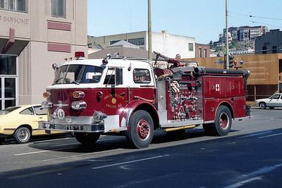 SAN FRANCISCO FD  ENGINE 13  1971  ALF   1500-500