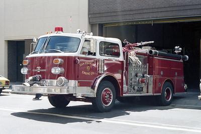 SAN FRANCISCO FD  ENGINE 3 1979 ALF CENTURY   1250-500