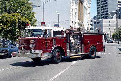 SAN FRANCISCO FD  ENGINE  36  1976  ALF CENTURY   1500-500