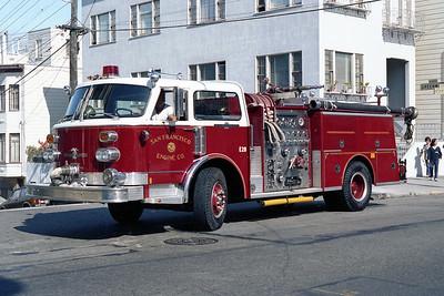 SAN FRANCISCO FD  ENGINE 28  1979  ALF CENTURY   1250-500