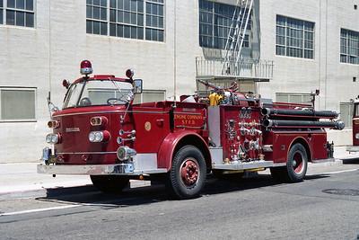 SAN FRANCISCO FD  ENGINE 7  1965  ALF 900   1250-500