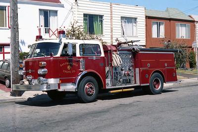 SAN FRANCISCO FD  ENGINE 17  1979  ALF CENTURY   1250-500