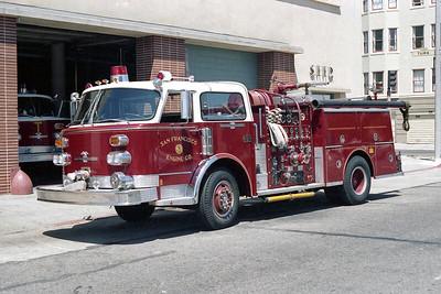 SAN FRANCISCO FD  ENGINE 5  1976  ALF CENTURY   1500-500
