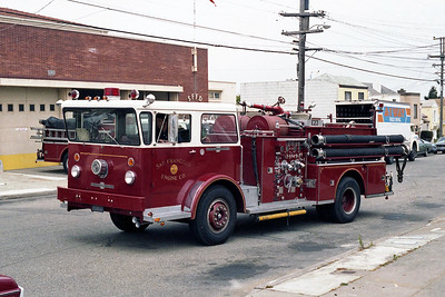 SAN FRANCISCO FD  ENGINE  23  1970  ALF PIONEER   1250-500