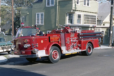SAN FRANCISCO FD  ENGINE 24  1961  ALF 900   1000-300